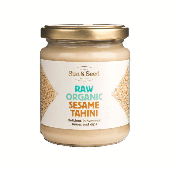 Organic Raw White Sesame Tahini - Delicious And Nutritious