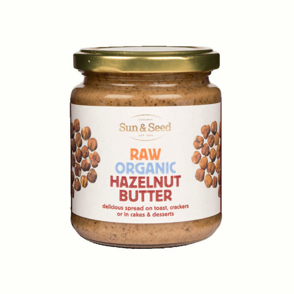 Organic Raw Hazelnut Butter - Absolutely Delicious