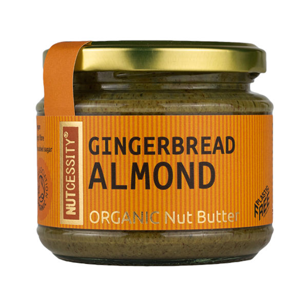 Natural almond butter - quality taste and nutrition in every bite