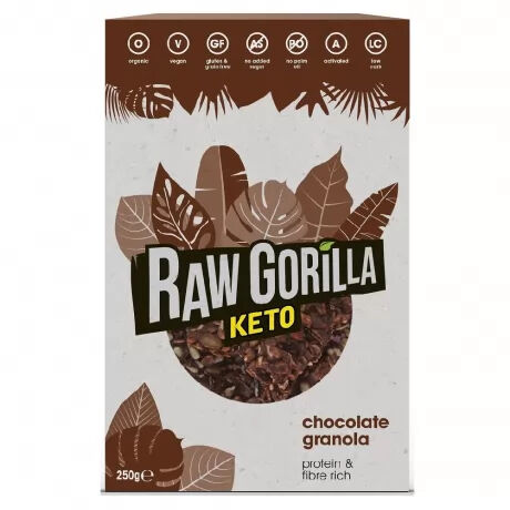 Keto Friendly Raw Granola Chocolate– Highly Nutritious
