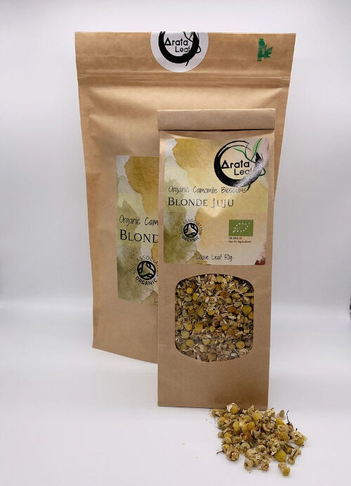 Organic Chamomile Blossoms Tea - Comforting And Naturally Sweet