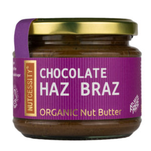 Raw cacao, hazelnuts & brazil nuts butter - quality taste and nutrition in every bite