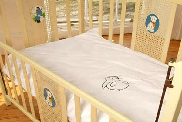Bunny Cot Duvet Cover 100% Certified Organic Cotton