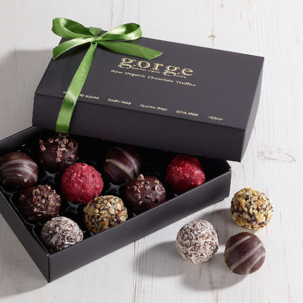 Classic Selection Box – Raw Organic Chocolate Truffles (No Alcohol)