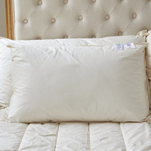 Luxury handmade organic wool pillows