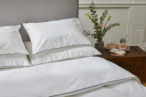 Piping Edged Organic Cotton Duvet Sets