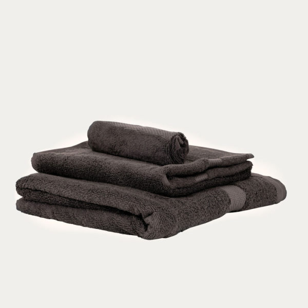 Luxury Fair Trade 100% Organic Cotton Towels - Smoky Brown Towels