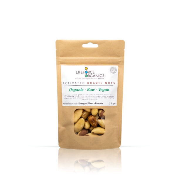 Activated Organic Brazil Nuts- 100% Pure