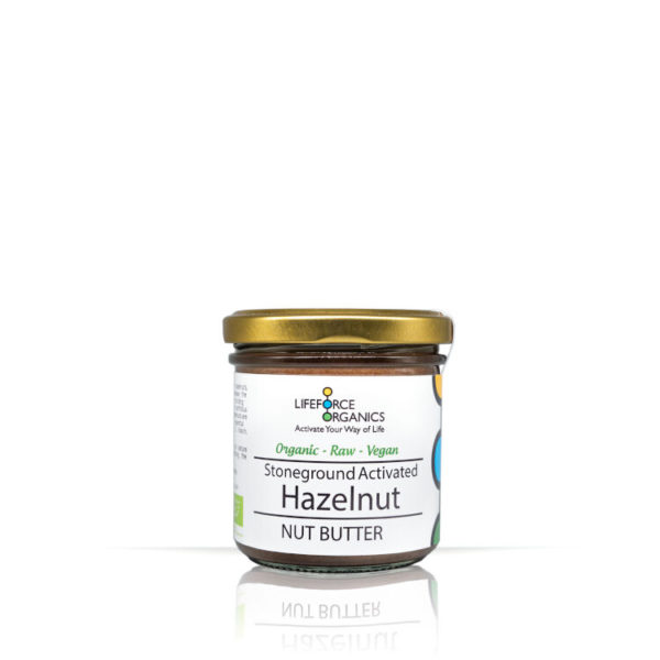 Activated Organic Hazelnut Butter: Delicious Indulgent Taste