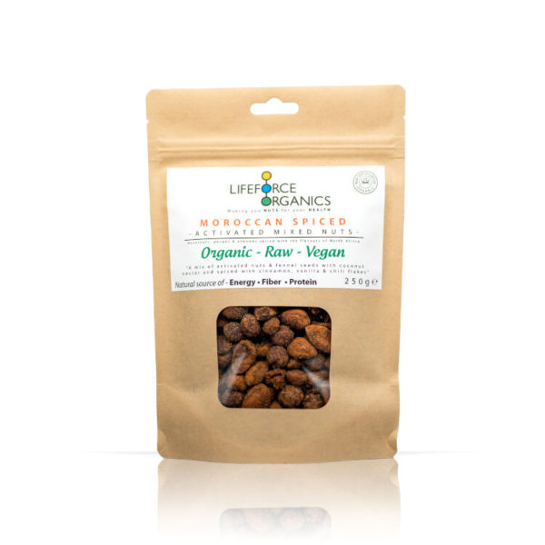 Moroccan Spiced – Activated Mixed Nuts