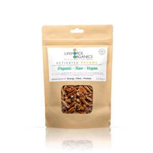 This organic pecan nut pieces are 100% raw, pure and free of any additives or preservatives.