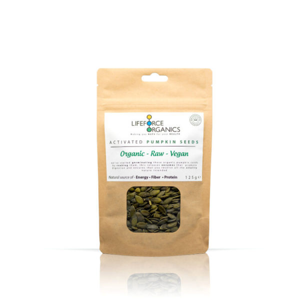 Activated Organic Pumpkin Seeds : Healthy Snacks