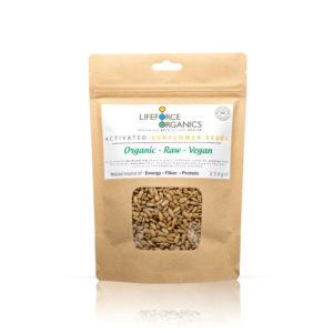 Activated organic sunflower seeds : perfect healthy snack