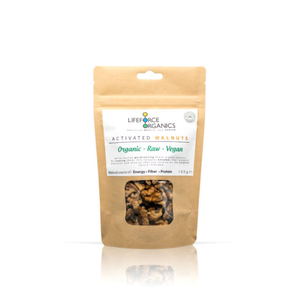 Activated Raw Organic Walnuts : Mouthwatering Healthy Snack